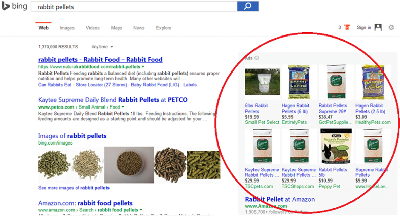 bing-product-search-product-ads-organic-search-results